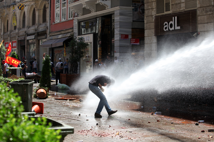 turkish police brutally iii