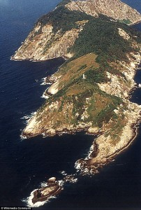 the 'snake' island