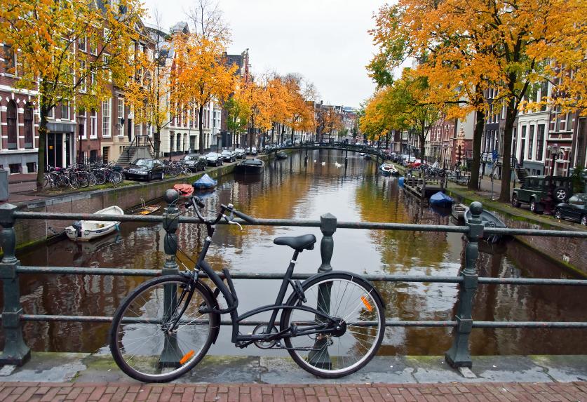 Amsterdam-bike-and-canal