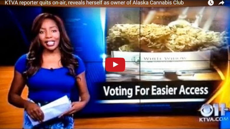 "Journalist Resigns Live On Air to ""Run"" a Cannabis Store"