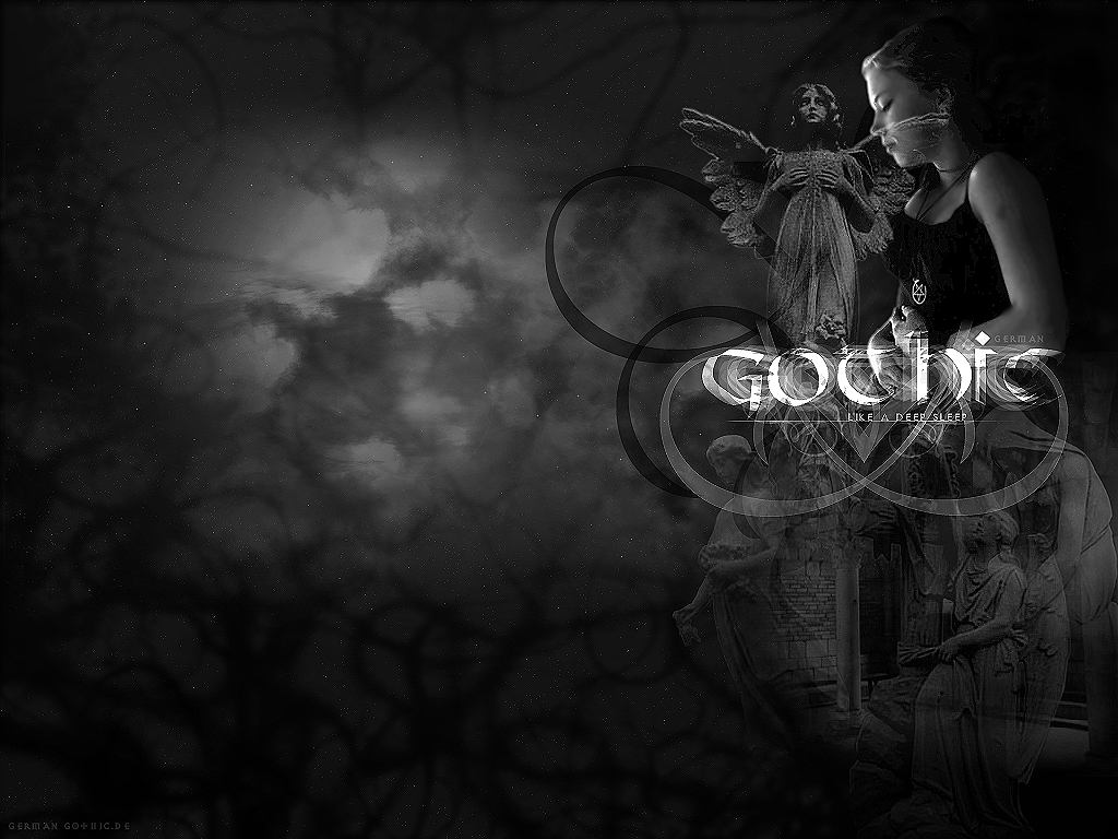 Gothic Love couple Wallpaper : The Gothic Style as A Way of Life