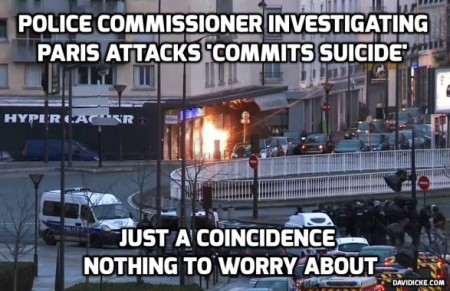 Charlie Hebdo Police Investigator Turns Up Dead, Suicided - TruthInsideOfYou