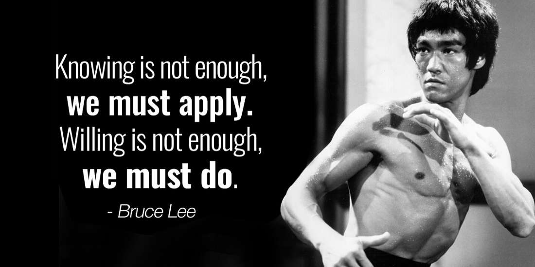 Life Lessons from Bruce Lee