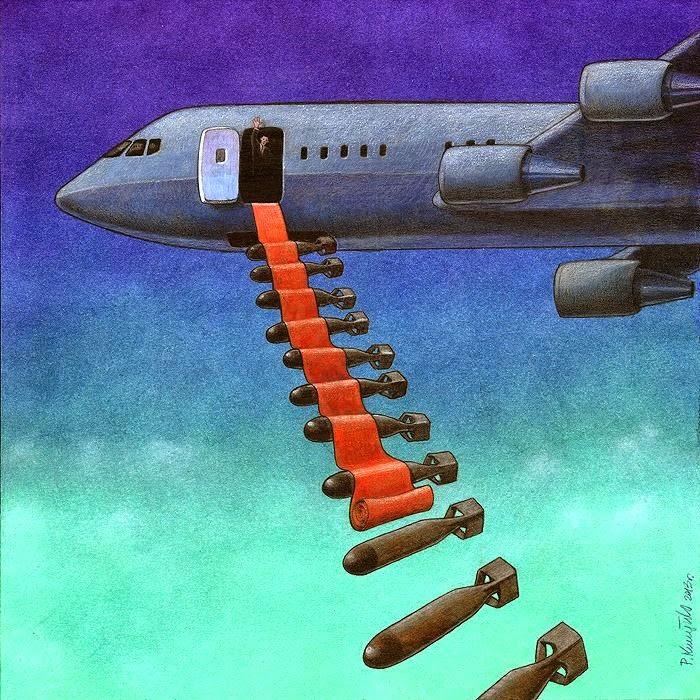 Pawel Kuczynski bombs away