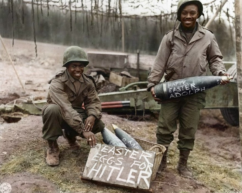 Easter eggs for Hitler, 1944-1945