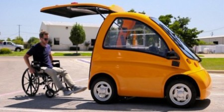 GENIUS LITTLE CAR WILL REVOLUTIONIZE HOW PEOPLE WITH DISABILITIES GET AROUND