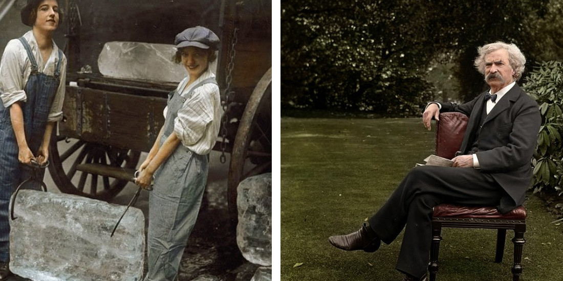 These 40 Colorized Photos From The Past Will Blow You Away