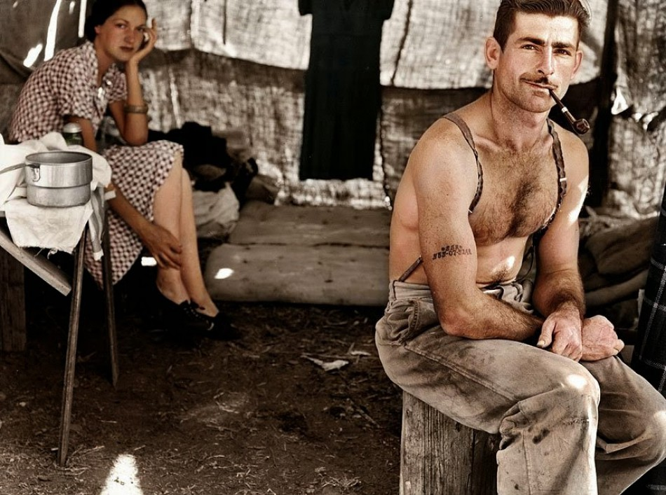Unemployed woodcutter, approx. 1939