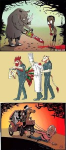 what if animals were acting as humans do