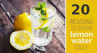 Drink Warm Lemon Water