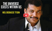 Dr. Neil DeGrasse Tyson : The universe is us. Our atoms come from the stars!