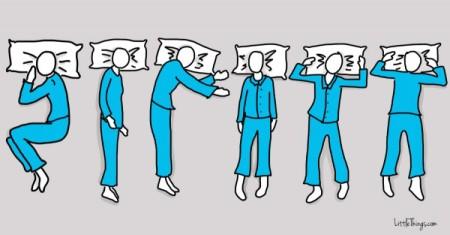 favorite way to sleep