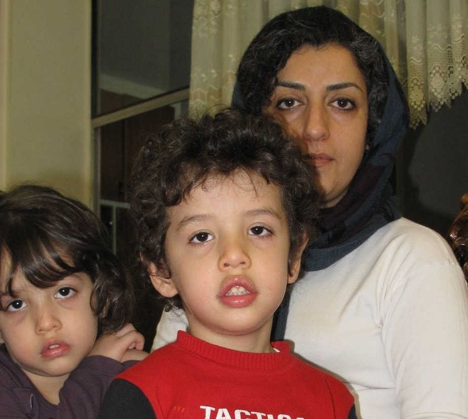 Narges Mohammadi - a young mother story from prison in Iran