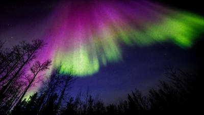 Northern Lights time-lapse