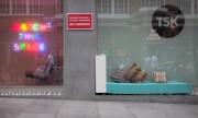 Some artists made London a little bit friendlier for homeless people.