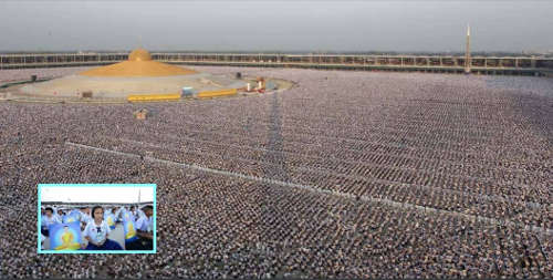 1 Million Children Meditating In Thailand