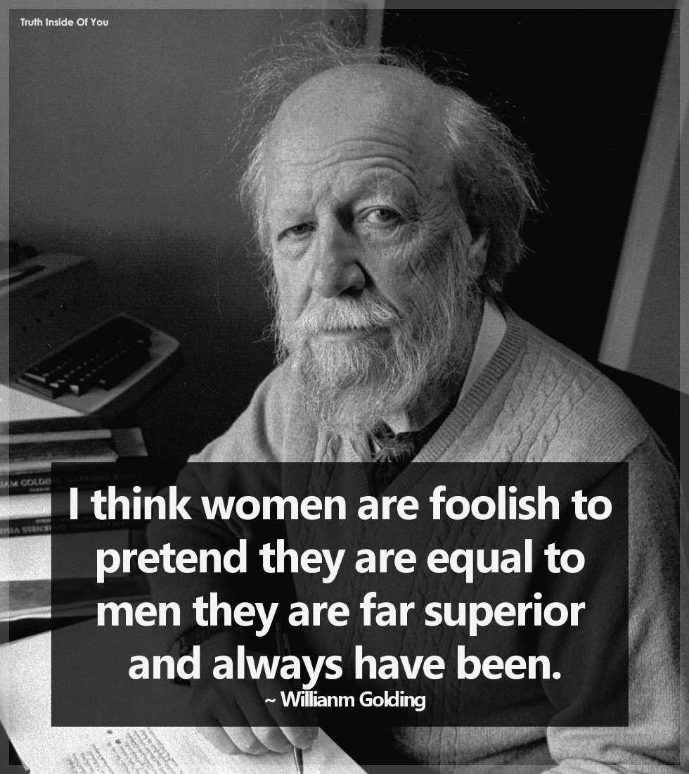 Did Author William Golding Say That 'Women Are Far Superior' to Men?