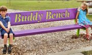 The bench buddy: A fantastic idea of a student.