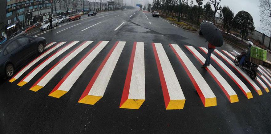 three-dimensional crossings