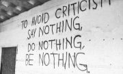 The Best Response to Criticism.