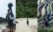 The man who walked thousands of miles for the images of Google's Street View!