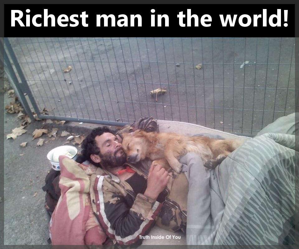 Richest man in the world!