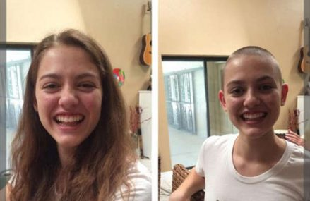 This girl was paid $1,000+ to shave her head.
