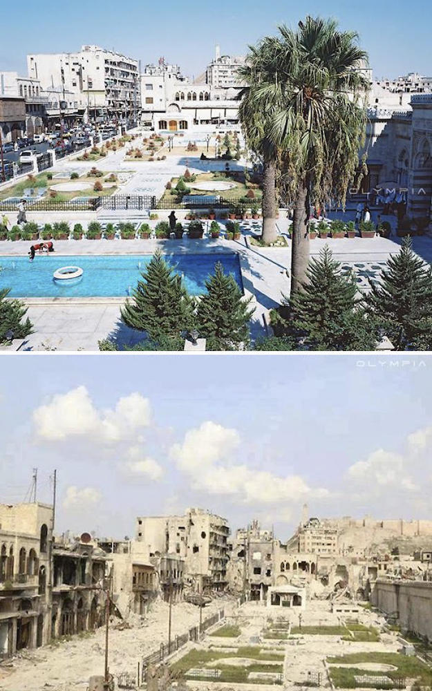 Syrian War-Before-After