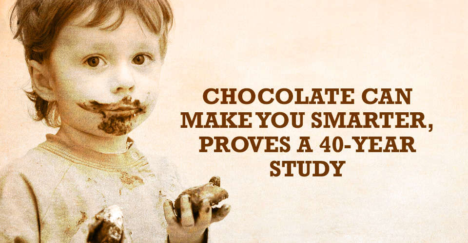 Chocolate Can Make You Smarter
