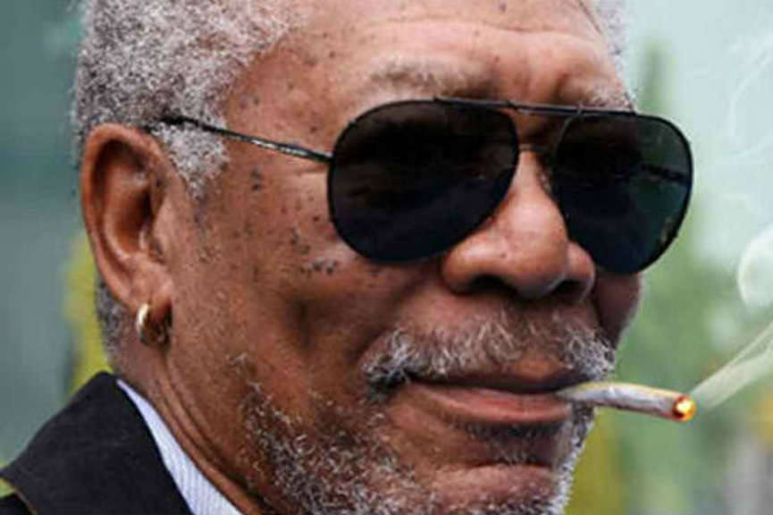 Morgan Freeman Defends His Cannabis