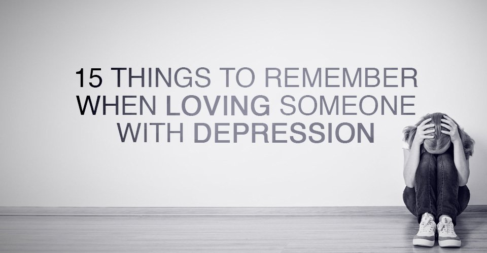 love someone with depression