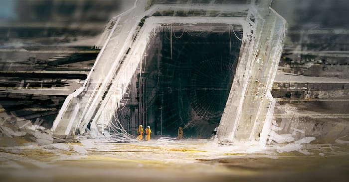 12,000 year old massive underground tunn