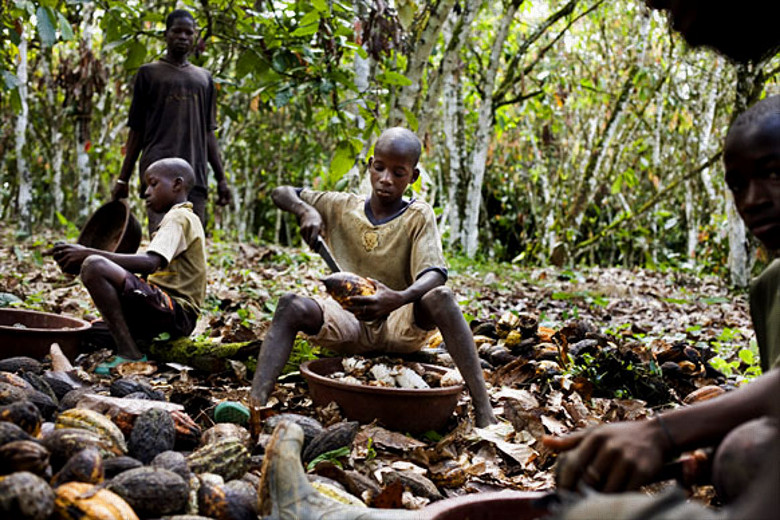 Is Your Favorite Chocolate Made By Child Slaves? Probably.
