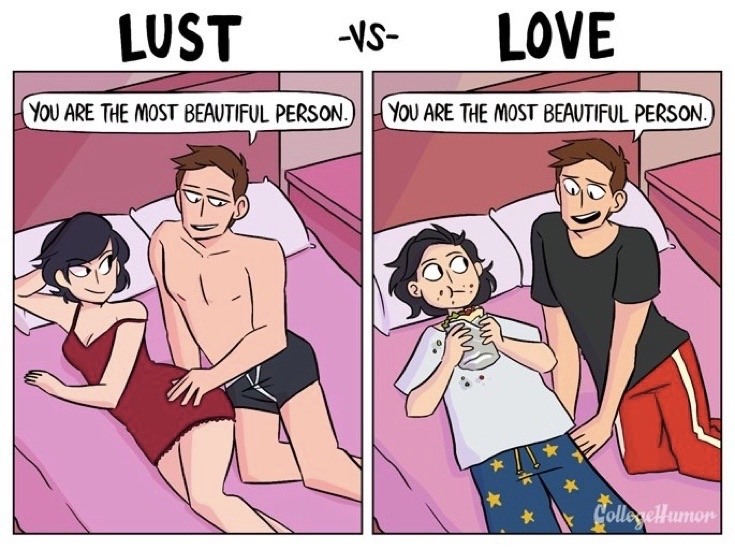 Do You Know the Difference Between Lust and Love