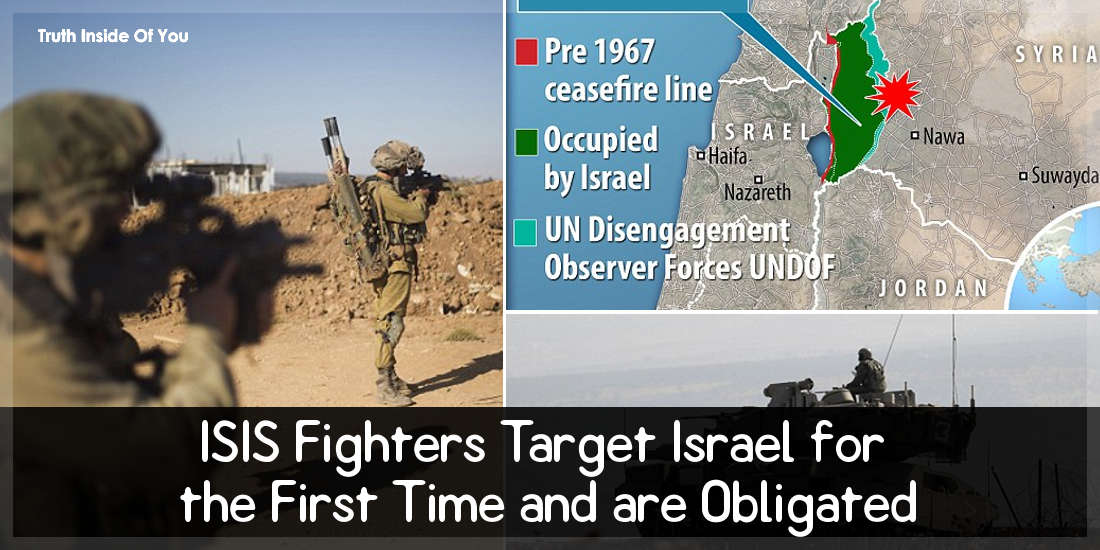 ISIS Fighters Target Israel for the First Time and are Obligated