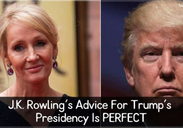 J.K. Rowling's Advice For Trump's Presidency Is PERFECT