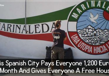This Spanish City Pays Everyone 1,200 Euros A Month And Gives Everyone A Free House.