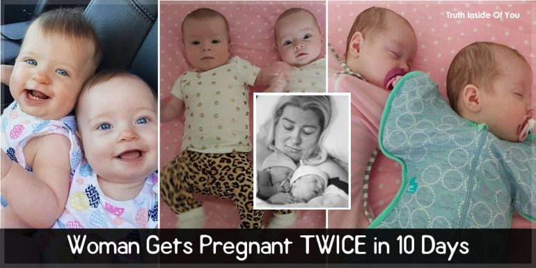 Woman Gets Pregnant TWICE in 10 Days