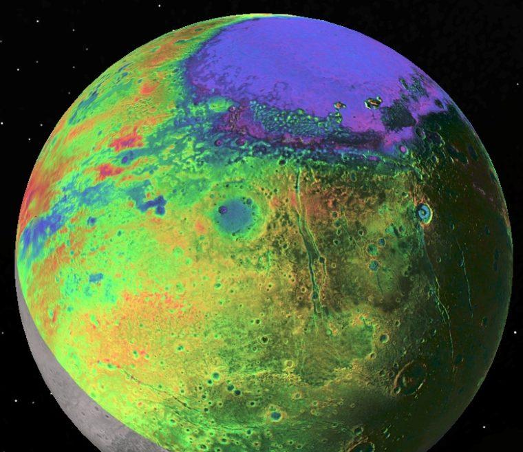 Pluto Topography