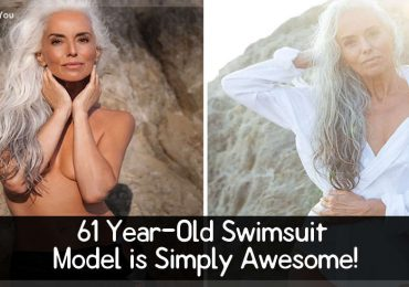61 Year-Old Swimsuit Model is Simply Awesome!