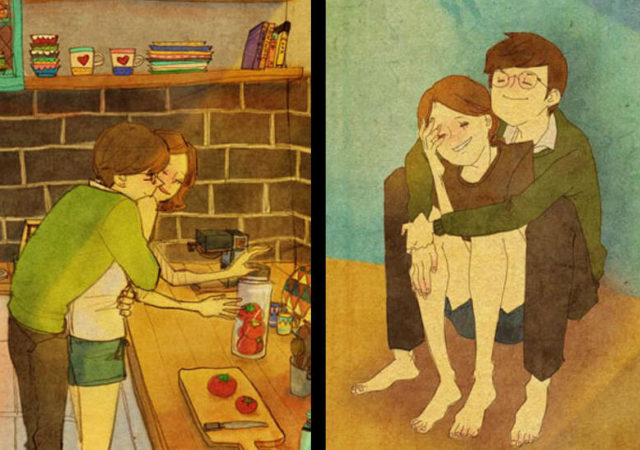 Artist Beautifully Captures What Real Love Looks Like
