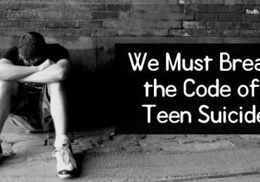 We Must Break the Code of Teen Suicide.