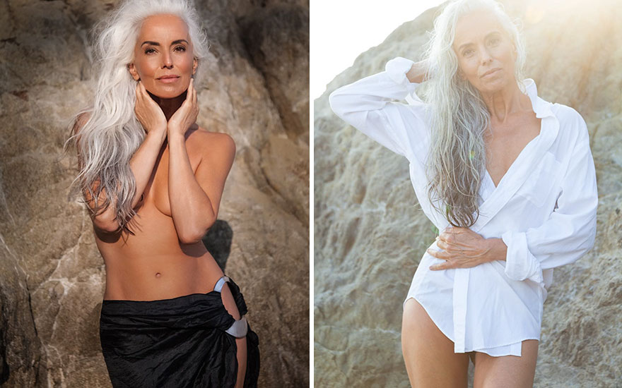 Yazemeenah Rossi, 61-year-old model