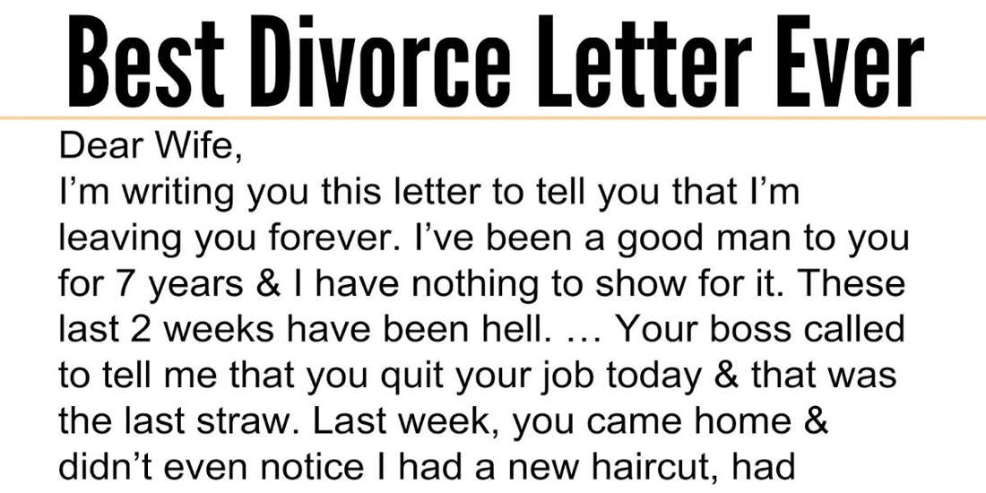 Husband Admits To Sleeping With Wife's Sister. Wife's Response Is The Best Ever!!