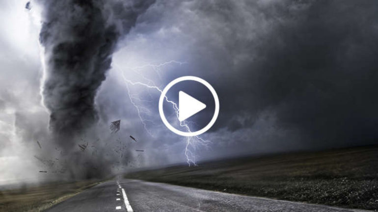 How Does It Feel to Be Inside a Tornado