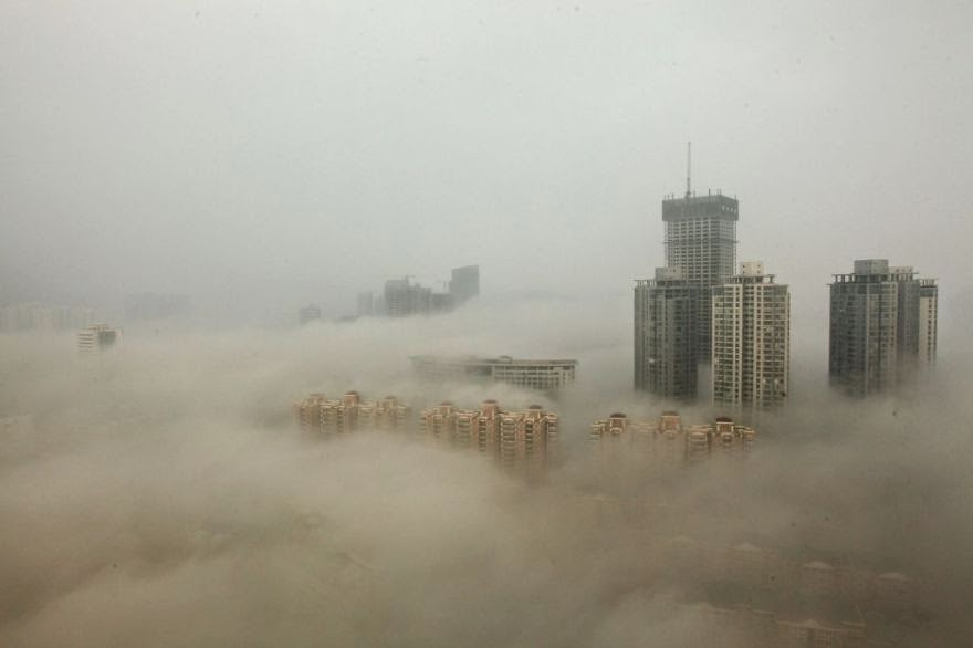 Beijing In A Cloud Of Smog