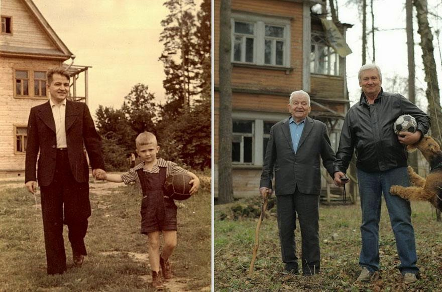 30 of the most powerful images of all time - Father and son
