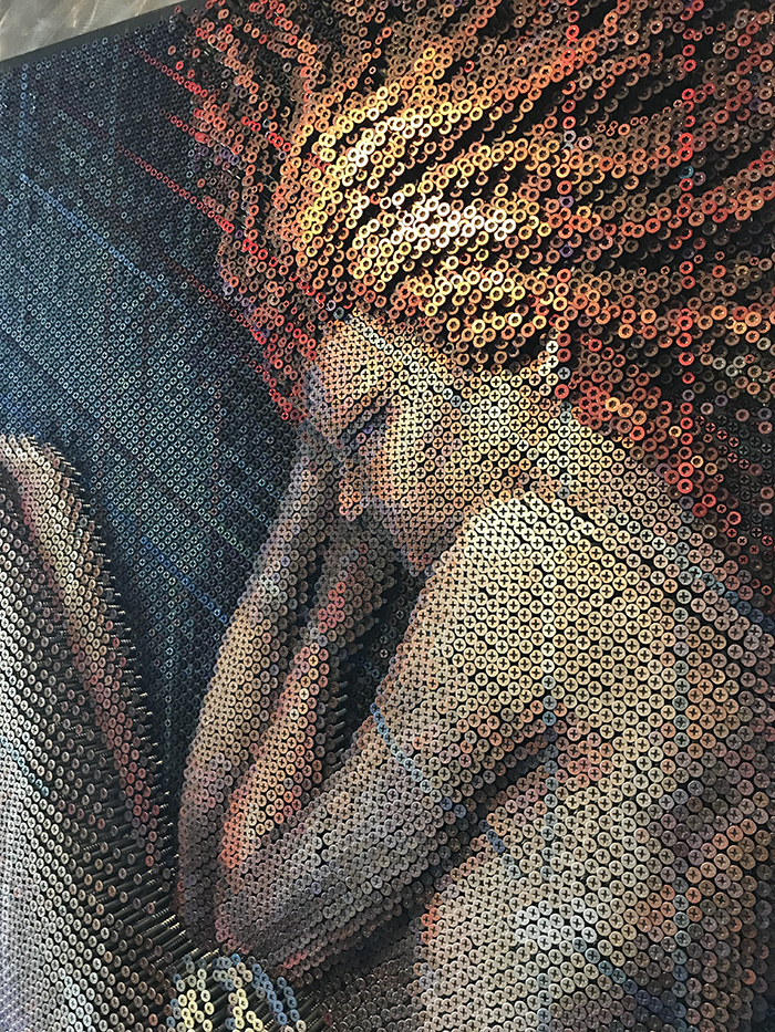 Artist Used 20,000 Nails to Create Amazing Portraits.4