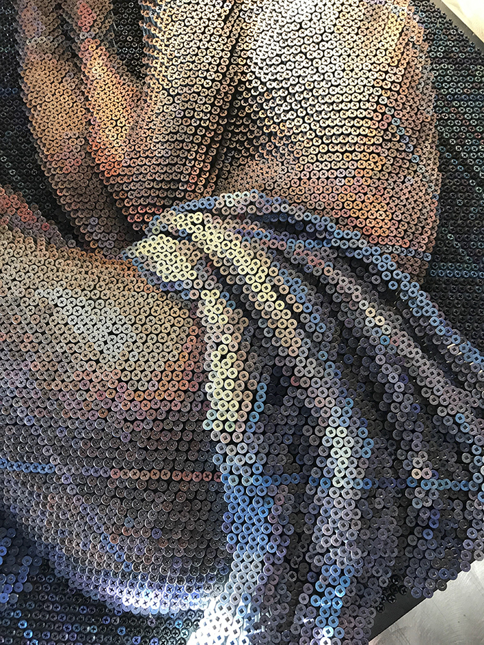 Artist Used 20,000 Nails to Create Amazing Portraits.7