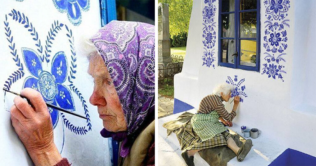 90 Year Old Czech Grandma Transforms a Village Into An Art Gallery.